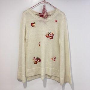 LC Lauren Conrad Disney Snow White sweater large
